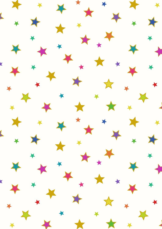 Lewis and Irene -  Rainbows - Bright Stars with Gold Metallic