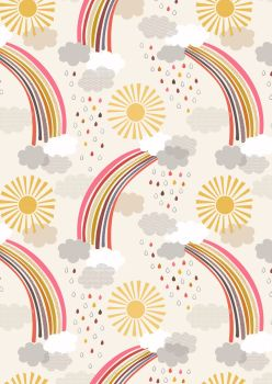 Lewis and Irene -  Rainbows - Calming Rainbows on Cream