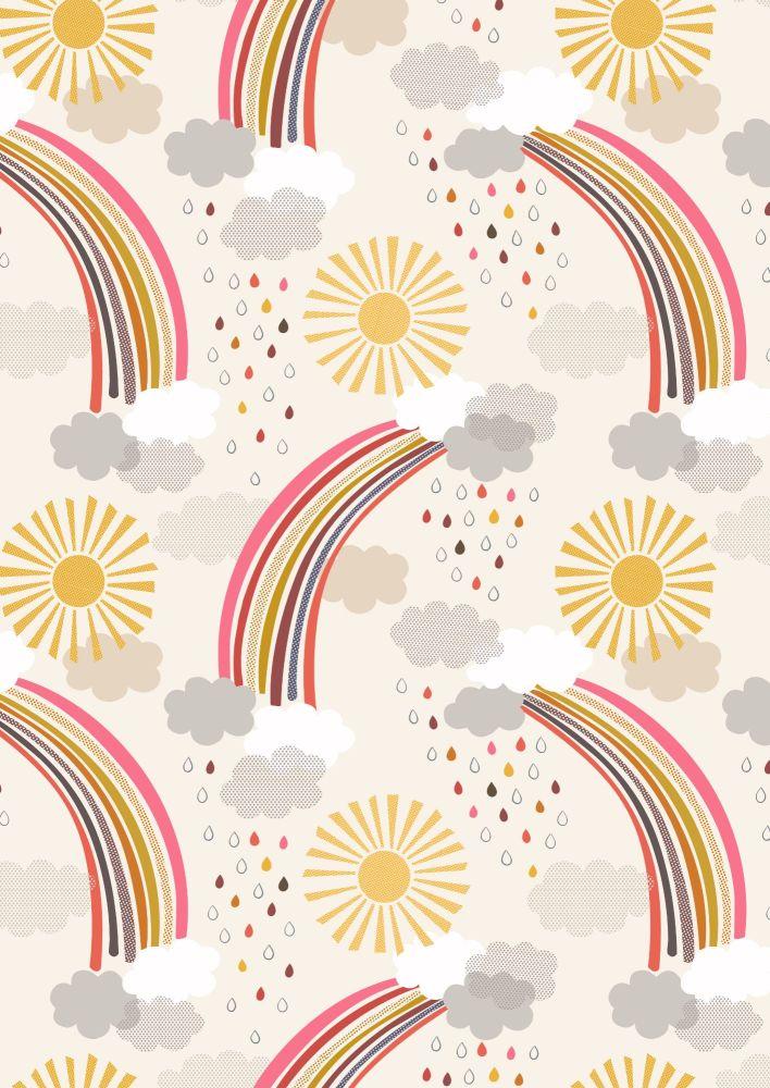 Lewis and Irene -  Rainbows - Calming Rainbows on Cream