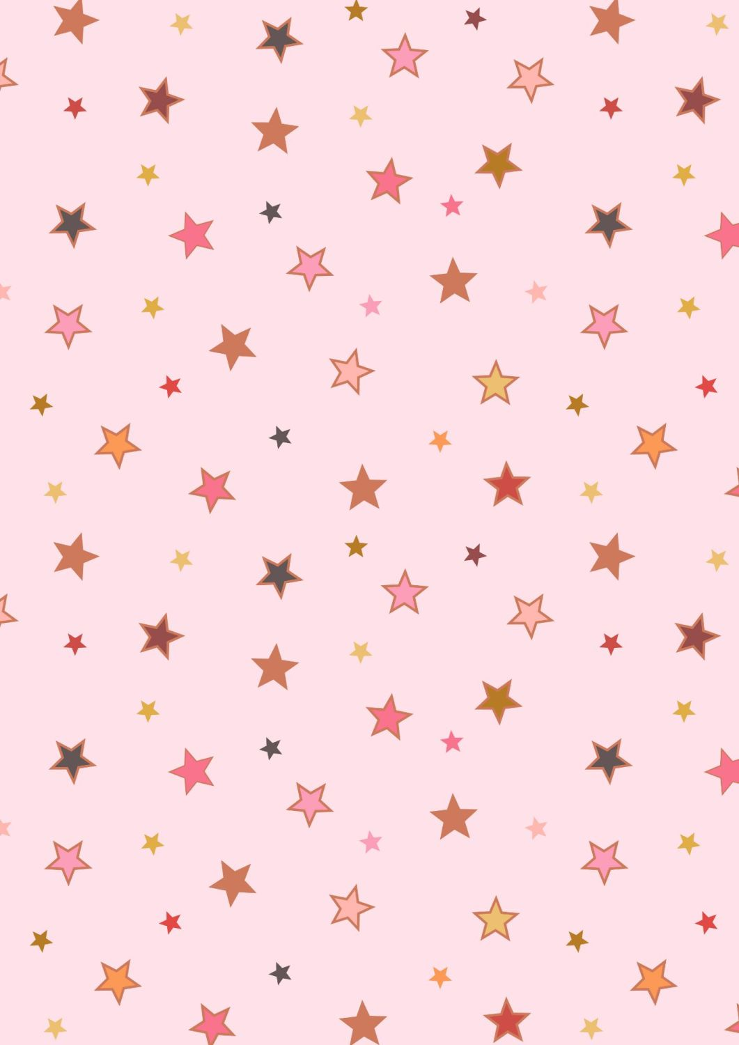 Lewis and Irene -  Rainbows - Calming Stars with Rose Gold Metallic
