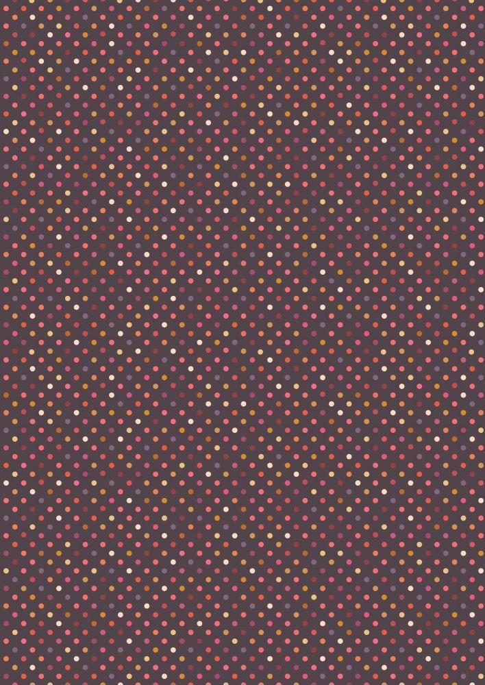 Lewis and Irene -  Rainbows - Dark Rainbow Dots