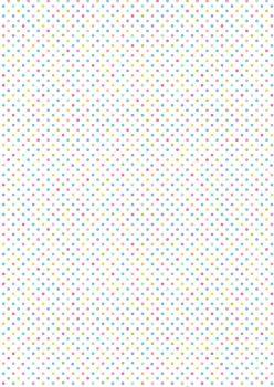 Lewis and Irene -  Rainbows - Pastel Rainbow Dots