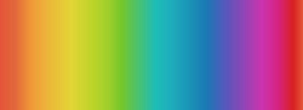 Lewis and Irene -  Rainbows - Rainbow Blend (Digital Print)