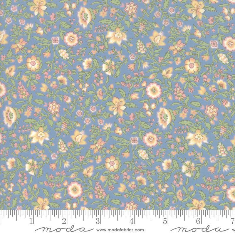 Moda Fabrics - Tres Jolie Lawn by French General - Blue