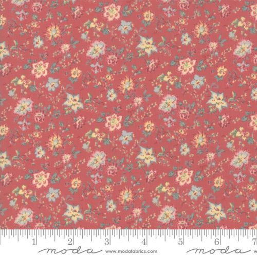 Moda Fabrics - Tres Jolie Lawn by French General - Faded Red