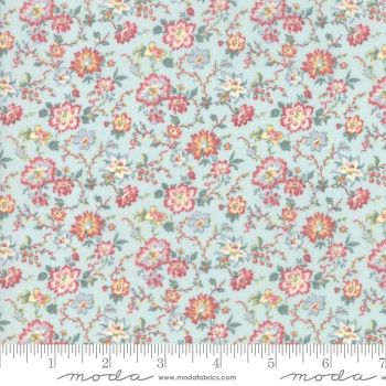 Moda Fabrics - Tres Jolie Lawn by French General - Sea Mist
