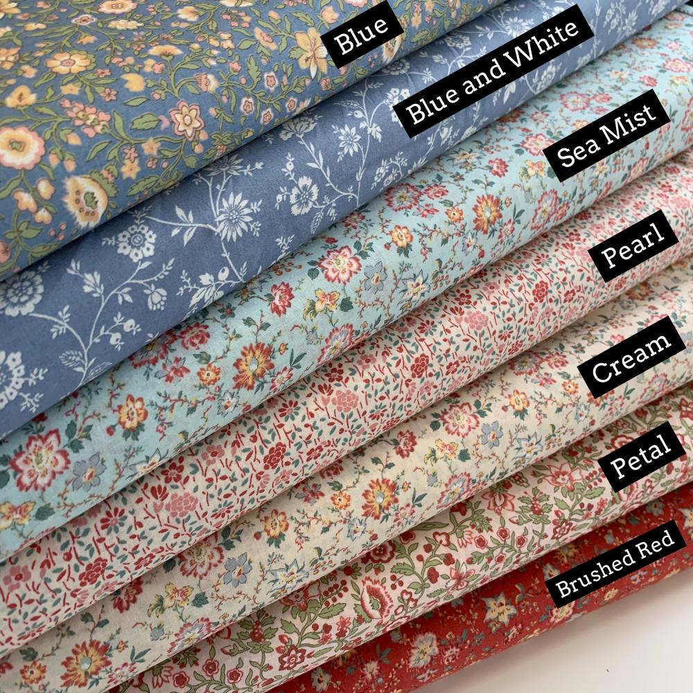 Tres Jolie by Moda Fabrics  - Felt Backed Fabric