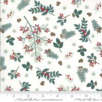 Moda Fabrics Kate and Birdie Paper Co. - Juniper - Snow Folliage