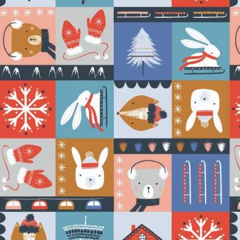 Snow Much Fun by Dashwood Studio -  Block Print