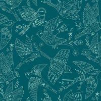 Aviary by Dashwood Studio -  Bird Outlines