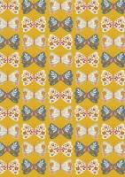 Meadow Safari Needlecord Corduroy Dashwood Studio - Butterflies