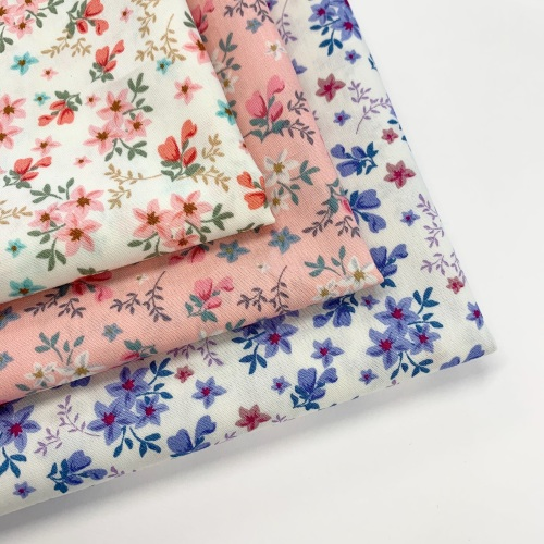 Rose and Hubble - Blooms - Felt Backed Fabric