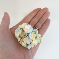 Mulberry Paper Flower Sweetheart Blossom Pastel Rainbow