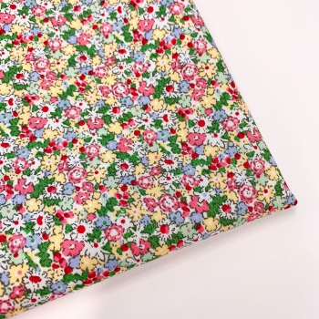 Rose and Hubble - Country Garden - Felt Backed Fabric
