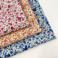 Rose and Hubble - Ditsy Floral - Felt Backed Fabric
