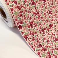 Rose and Hubble Fabrics - 100% Cotton Poplin  Ditsy Floral Pink