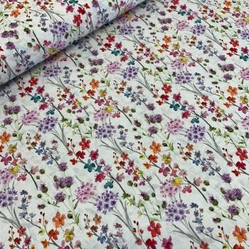 John Louden - Wildflower Meadow - Felt Backed Fabric