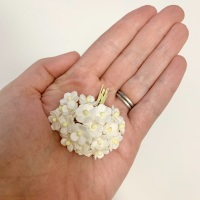 Mulberry Paper Flower Miniature Sweetheart Blossom White