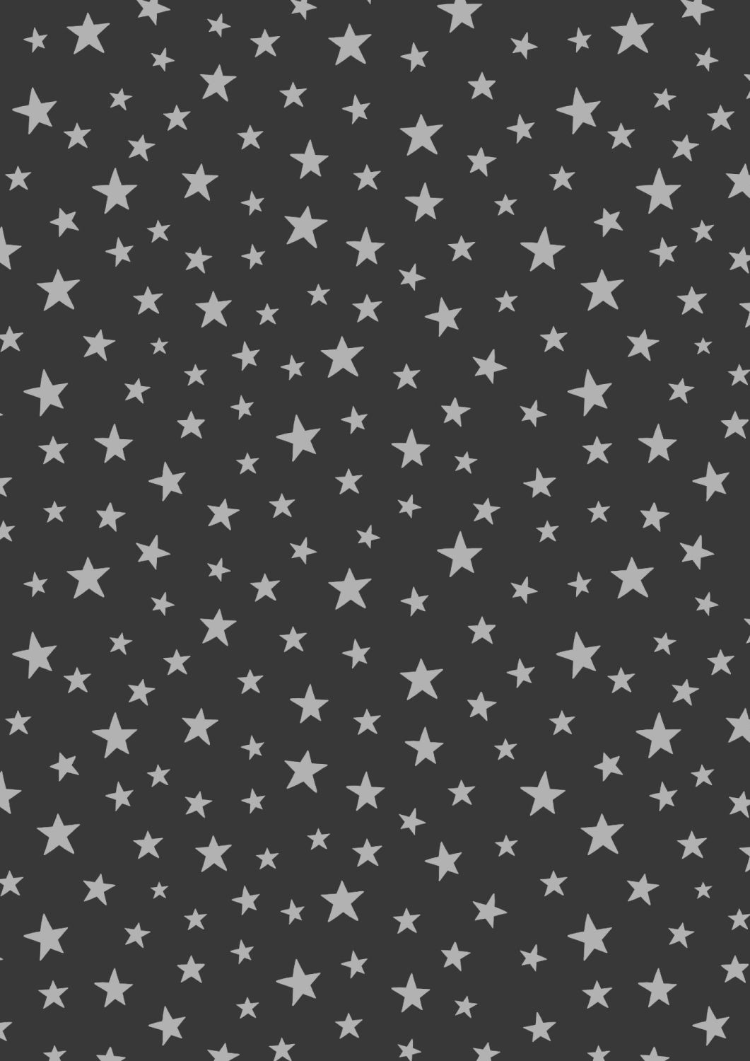 Lewis and Irene -  Marvellous Metallics - Silver Star on Black