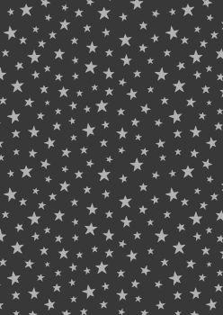 Lewis and Irene -  Marvellous Metallics - Silver Star on Black
