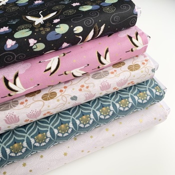 Lewis and Irene -  Jardin de Lis - Fat Quarter Bundle