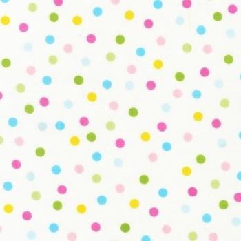 Robert Kaufman - Remix - Pastel Spring Dots