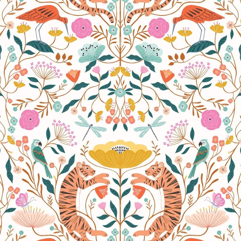 Our Planet - Dashwood Studio - Tigers on Light