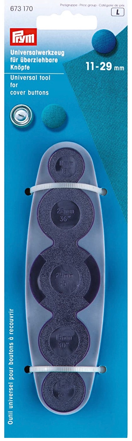 Prym Universal Tool for Cover Buttons - 11mm - 29mm