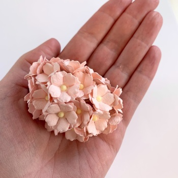 Mulberry Paper Flower Sweetheart Blossom Pink Mist