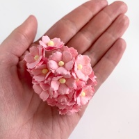 Mulberry Paper Flower Sweetheart Blossom Baby Pink