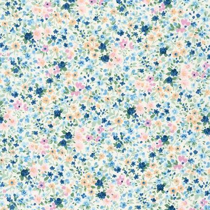 Petite Garden by Sevenberry - Watercolour Blue Floral