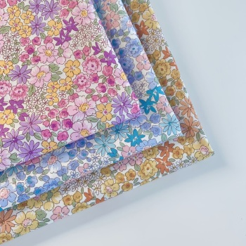 Sevenberry - Petite Garden Meadow Floral - Felt Backed Fabric