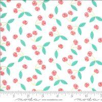 Moda Fabrics - Hello Sunshine - Cherries White