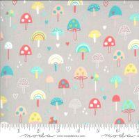 Moda Fabrics - Hello Sunshine - Mushrooms Cloudy