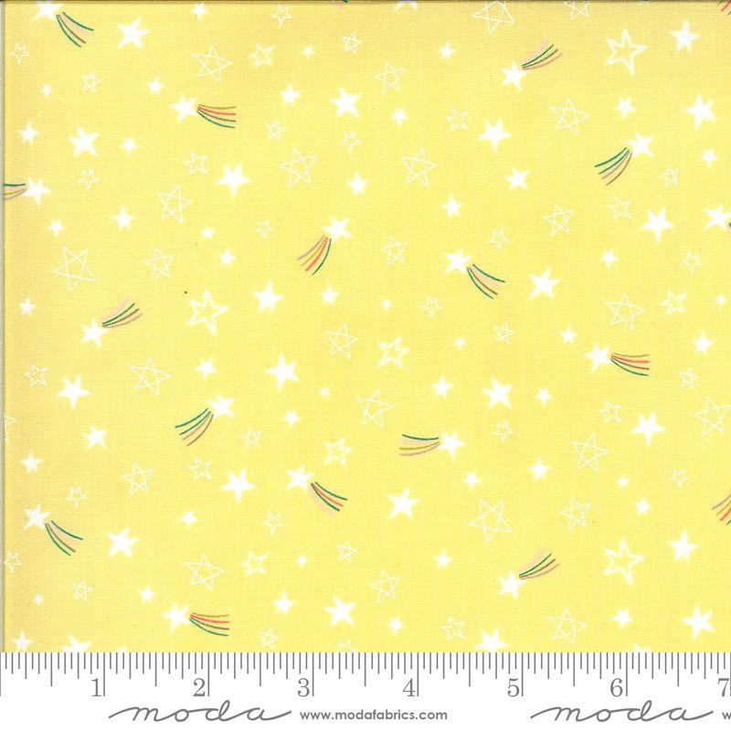 Moda Fabrics - Hello Sunshine - Stars Sunshine Yellow