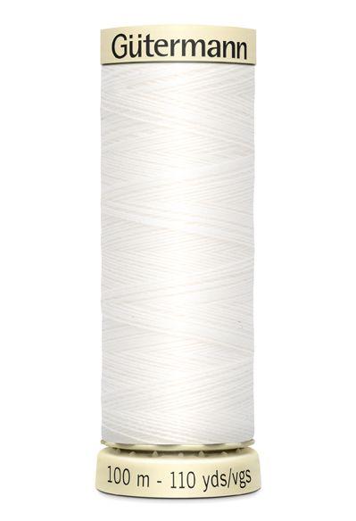 Gütermann Sew-All Thread 100m - 800 White