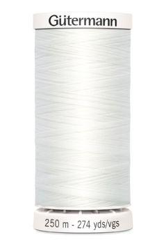 Gütermann Sew-All Thread 250m - 800 White