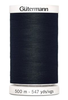 Gütermann Sew-All Thread 500m - 000 Black