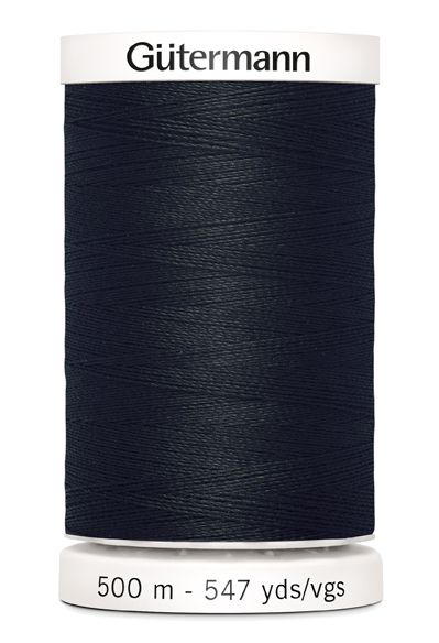 Gütermann Sew-All Thread 500m - 000 Black