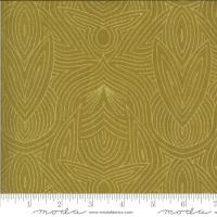 Moda Fabrics - Dwell in Possibility - Metallic Art Nouveau Umber