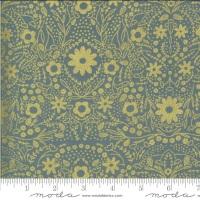 Moda Fabrics - Dwell in Possibility - Metallic Floral Sky