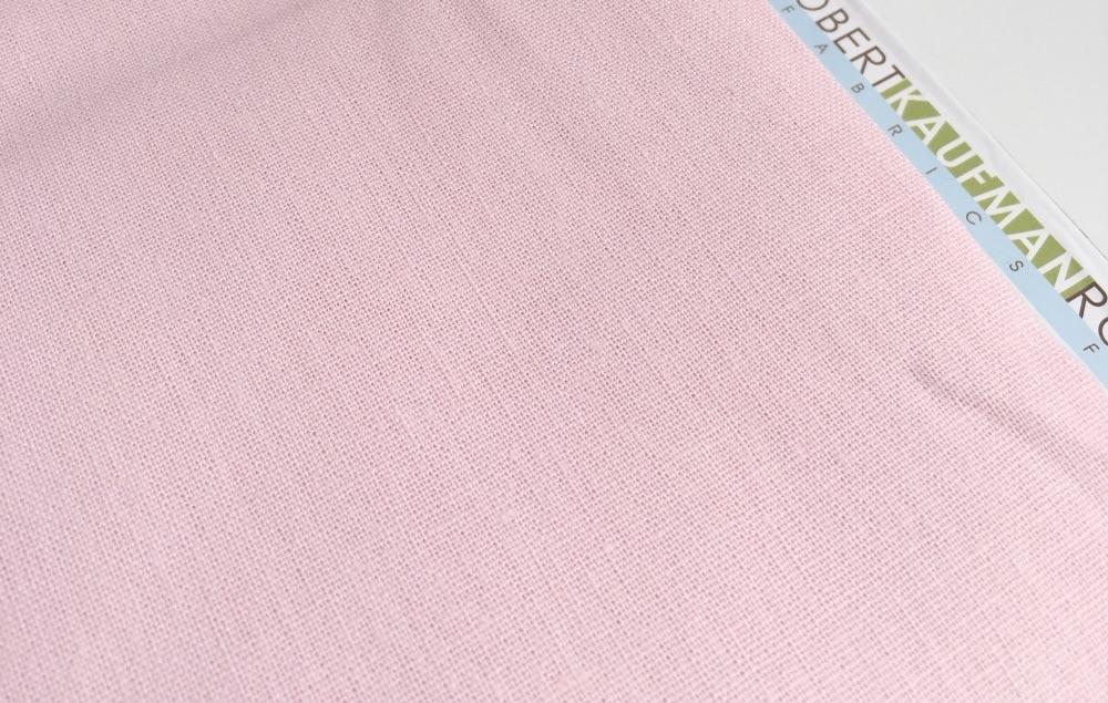 Robert Kaufman Essex Linen - Blossom - Felt Backed Fabric
