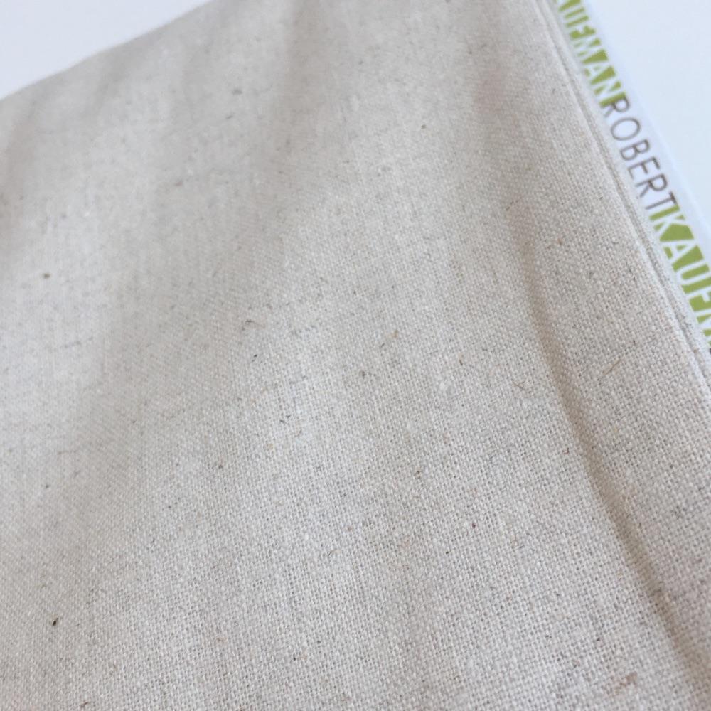 Robert Kaufman Essex Linen - Natural - Felt Backed Fabric