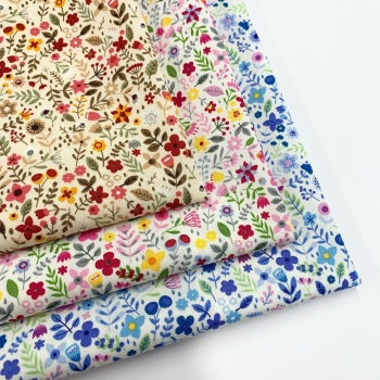Rose and Hubble - All the Flowers - Felt Backed Fabric