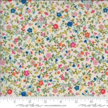 Moda Fabrics - Lulu by Chez Moi - Packed Floral