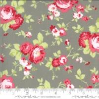 Moda Fabrics - Sophie by Brenda Riddle - Main Floral Cobblestone 100% Cotton