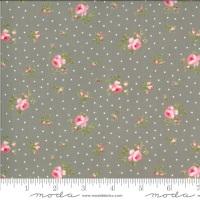 Moda Fabrics - Sophie by Brenda Riddle - Medium Floral Cobblestone 100% Cotton