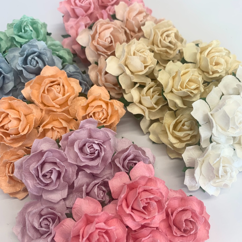 Mulberry Paper Flower - Cottage Roses