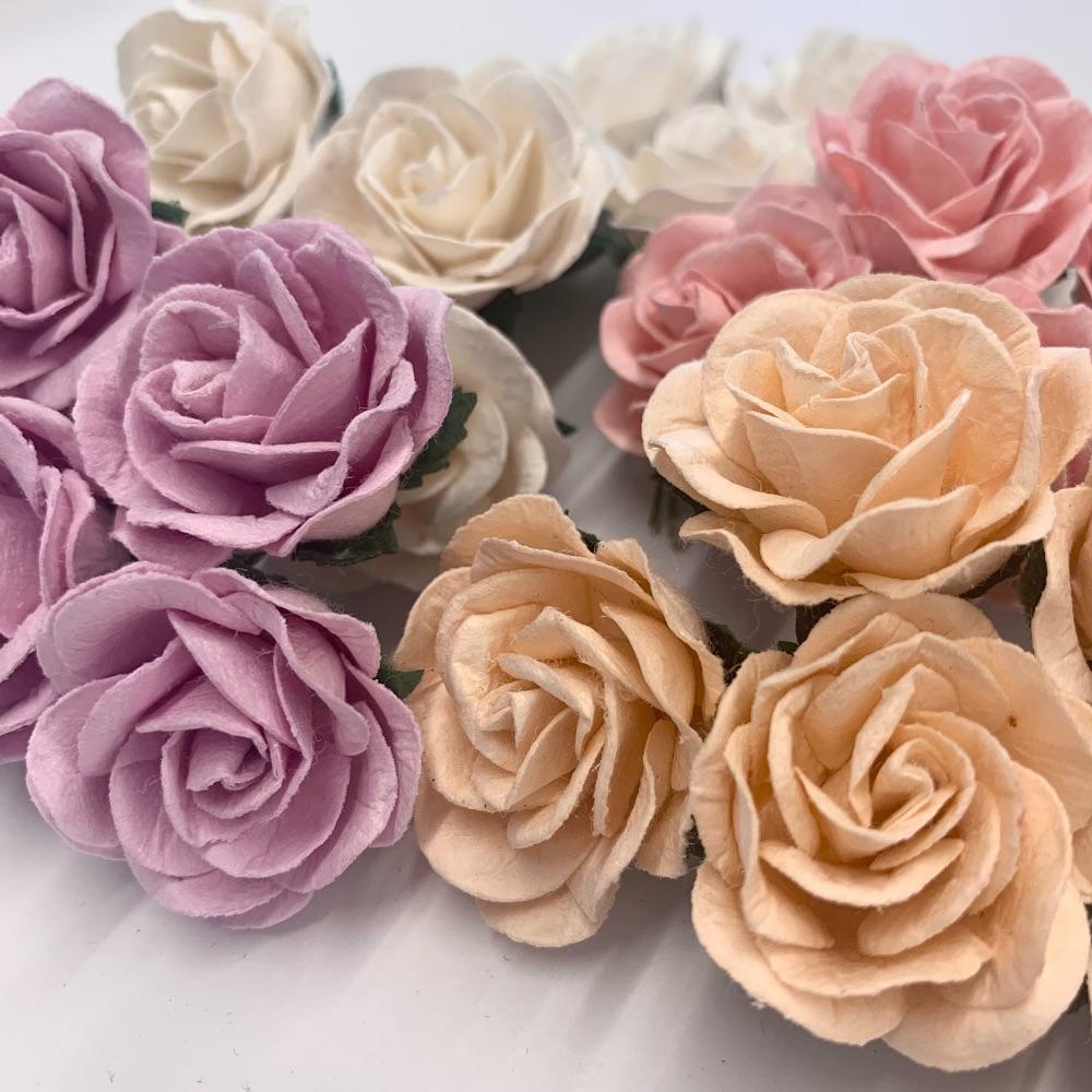 Mulberry Paper Flower - Trellis Roses