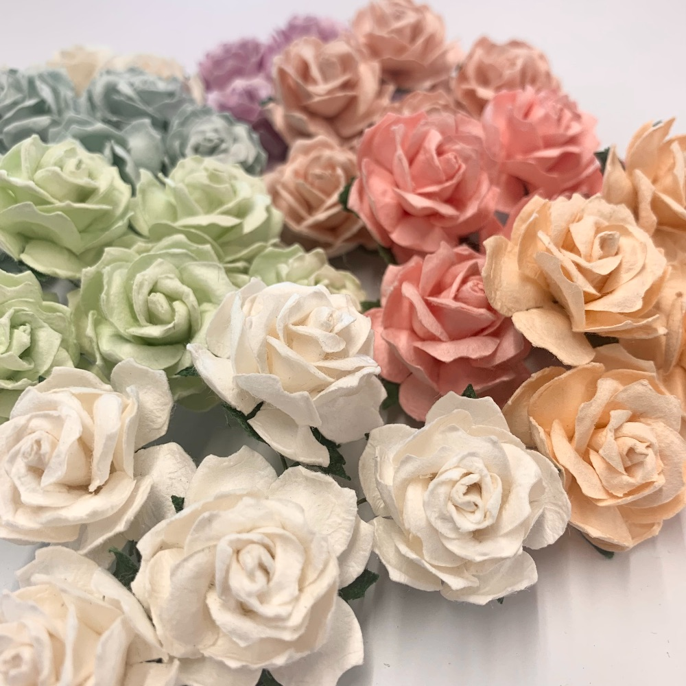 Mulberry Paper Flower - Wild Roses